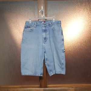 Tommy Hilfiger denim carpenter style shorts